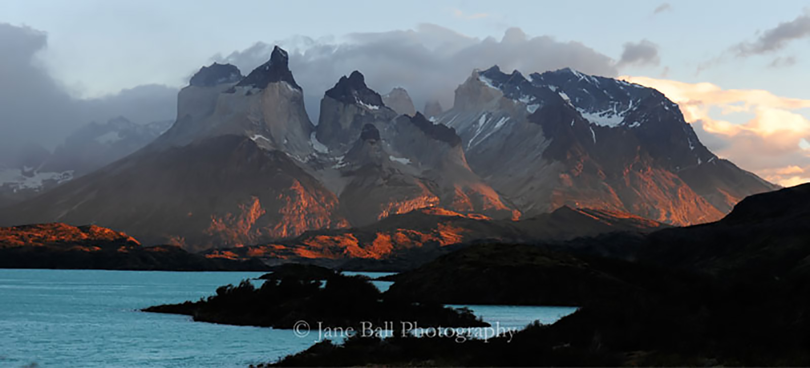 The Horns at Sunset, Patagonia